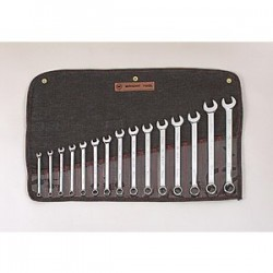 Wright Tool - 952 - 15 pc. Full Polish Metric Combination Wrench Set