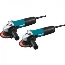 Makita - 9557NB2 - Makita 9557NB2 4-1/2-Inch 7.5-Amp Corded AC/DC Switch Angle Grinder - 2pk