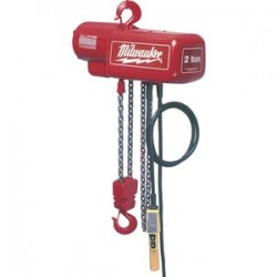 Milwaukee Electric Tool - 9572 - 2 Ton 15' Electric Hoist
