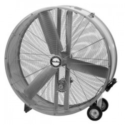 Air King - 9936D - Air King 9936D Portable Fan - 36 Diameter - 2 Speed - 40.5 Height x 20 Width - Steel Blade, Steel Housing