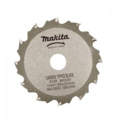 "Makita - A-90093 - 4-3/8"" 12tooth C.t. Circular Saw Blade-4"