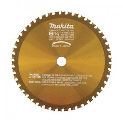 "Makita - A-90685 - 6-1/4""x46t C.t. Saw Blade Metal Cutting"