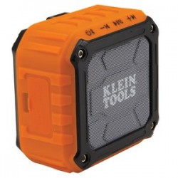 Klein Tools - AEPJS1 - Klein AEPJS1 10-Hour 5 Watt Water Resistant Wireless Jobsite Speaker, Orange