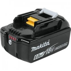 Makita - BL1860B - Makita BL1860B 18 Volt 6.0Ah Integrated LED LXT Lithium Ion Battery