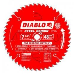 Diablo Tools - D0748F - Diablo D0748F 7-1/4-Inch 48-TPI Steel Demon Ferrous Metal Cutting Saw Blade