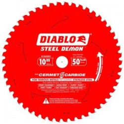Diablo Tools - D1050CF - 10 Carbide Metal Cutting Circular Saw Blade, Number of Teeth: 50