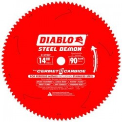 Diablo Tools - D1490CF - 14 Carbide Metal Cutting Circular Saw Blade, Number of Teeth: 90