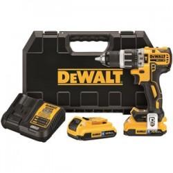 Dewalt - DCD796D2BT - DeWALT DCD796D2BT 20-Volt 2.0Ah Li-Ion Brushless Compact Hammerdrill Kit