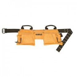 Dewalt - DG5372 - DeWALT DG5372 12 Pocket Carpenter's Suede Apron