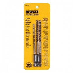 Dewalt - DW2571 - 3 Pc Rotary Masonary Set