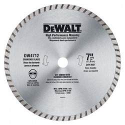 Dewalt - DW4712B - DeWALT DW4712B 7-inch High Performance Diamond Masonry Blade - (10 pack)