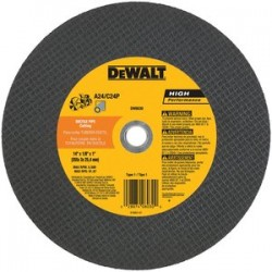"Dewalt - DW8030 - 14""x1/8""x1"" Ductile Pipeportable Cutoff Wheel"
