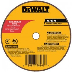 Dewalt - DW8706 - DeWALT DW8706 3 x .035 x 3/8 A36T Metal Thin Cut-Off Wheel -Type 1 (50 Pk)
