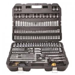 Dewalt - DWMT75049 - DEWALT 1/4 X 3/8 X 1/3 Black And Silver Chrome And Vandium DEWALT Mechanics Set, ( Each )