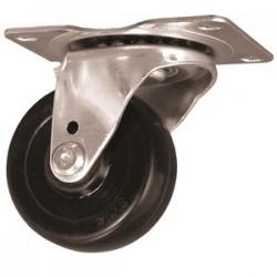 "EZ Roll - E-25-HR-S - 2-1/2"" Wheel Dia. Swivelcaster Hard Rubber 175lb"