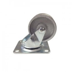 "EZ Roll - E-25-ST-S - 2-1/2"" Wheel Dia. Steelswivel Caster 200lb Cap."