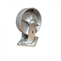 """EZ Roll - EZ-0820-ST-S - 8"""" Wheel Dia. Steel Swivel Caster Med Heavy Duty"""