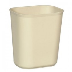 Rubbermaid - RCP 2540 BEI - 7qt. Fire Resistant Wastebasket Light Beige