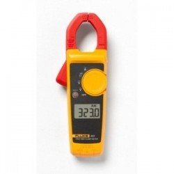 Fluke - FLUKE-323 - Clamp Meter, Auto, True RMS, 400 A AC, 600 V AC, 600 V DC, 30 mm Jaw Opening Max.
