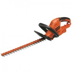 Black & Decker - HT22 - Black and Decker HT22 22'' 4A Electric Hedge Trimmer with Lock Off Switch and Cord Retention