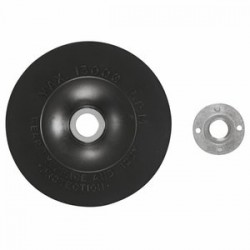 Bosch - MG0500 - Bosch 5' X 5/8' - 11 Rubber Backing Pad Assembly With Lock Nut (For Use With Angle Grinders), ( Each )