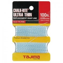 Tajima - PL-ITOS - Chalk Ultra Thin Braided Line - 0.5mm x 30m