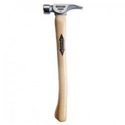 Stiletto Hammers - REN21MC - Stiletto REN21MC 18-Inch 21-Oz Steel Milled Face Curved Hickory Framer Hammer