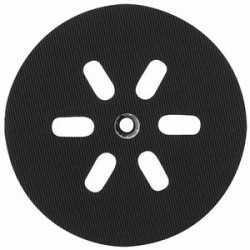 Bosch - RS6046 - Bosch RS6046 6-Inch 6-Hole Hook and Loop General-Purpose Hard Rubber Backing Pad
