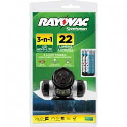 Rayovac - Sphltled-bb - Rayovac Sphltled-bb Sportsman Head Light, Led