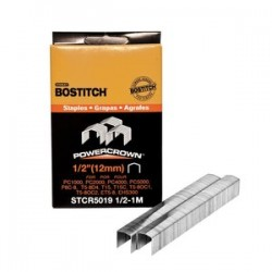 Stanley Bostitch - STCR501912-1M - Bostitch STCR501912-1M 1/2-Inch by 7/16-Inch Heavy-Duty PowerCrown Staple