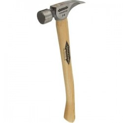 Stiletto Hammers - TI14MC-16 - 14OZ Milled Face Hammer with 16' Curved Hickory Handle