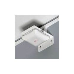 Oberon - 1009-00 - Right Angle Bracket for WAPs, White