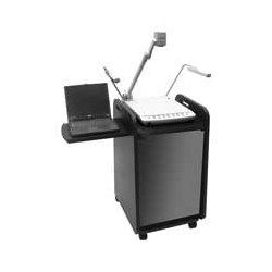 AVFI - 103420 - VFI 103420 A/V Equipment Cabinet - 1 x Shelf(ves) - 38 Height x 21 Width x 24 Depth - Black