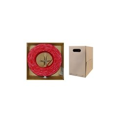 Provisions - 142-5RED - Cat5e, PVC, Red, 1000'