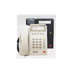 TeleMatrix - 19100IP - IP100, PoE Single Line Basic Speakerphone, Light Ash