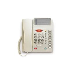 TeleMatrix - 19300 - SP300, Single Line Enhanced Feature Telephone, Light Ash