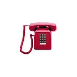 Scitec - 25003 - 2510E Emergency Desk Phone, Red