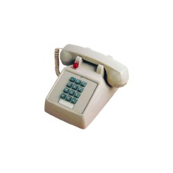Scitec - 25011 - 2510D Single-Line Desk Message Waiting Phone, Ash