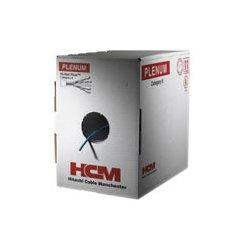 Hitachi Cable - 30025-8-WH2 - CAT6 Plus, Plenum, 1, 000' Reelex-Box, White