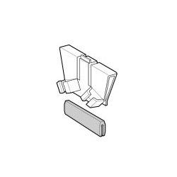 Plantronics - 4070001 - Plantronics Eyeglass Clip Kit - Plastic - Black, White