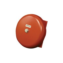 Wheelock - 43T-G10-24-R - AC VIB Bell, Indoor/Outdoor, 24VAC, 10 Shell, Red
