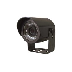 Channel Vision - 6125-B - Channel Vision 6125 IR illuminated Camera - Black - Color - CCD - Cable