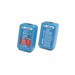 Stirling / IDEAL Industries - 62-200 - IDEAL LinkMaster PRO Tester - 1 x RJ-45 Network , 1 x RJ-45 Network Remote