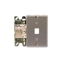 Suttle - SE-630B6 - Steel Wall Jack 6-pin, 260, 531, 793, No Screw Terminals