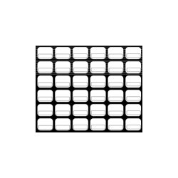 Baudcom - 8033 - Overlay Vb-4422xb 34k Black (pack Of 50)