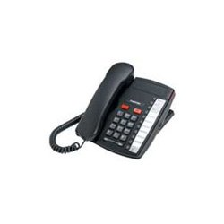 Mitel Networks - A1264-0000-10-05 - Aastra Value 9110 Standard Phone - Charcoal - Corded - 1 x Phone Line - Speakerphone