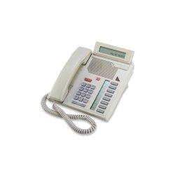 Mitel Networks - A1602-0000-15-07 - Aastra Meridian 5208 Standard Phone - Ash - Corded - 1 x Phone Line - Speakerphone
