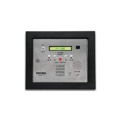 Viking - AES-2005F - 75 Name Apartment Entry System with Display and Voice, Expandable to 525 Names, Flush Mount with Color Camera