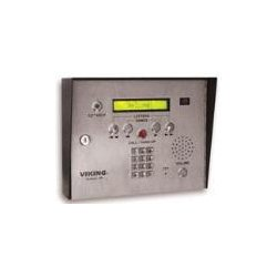 Viking - AES-2005S - 75 Name Apartment Entry System with Display and Voice, Expandable to 525 Names, Surface Mount with Color Camera