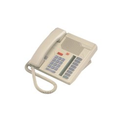 Mitel Networks - A1601-0000-15-07 - Aastra Meridian M5008 Standard Phone - Ash - Corded - 1 x Phone Line - Speakerphone